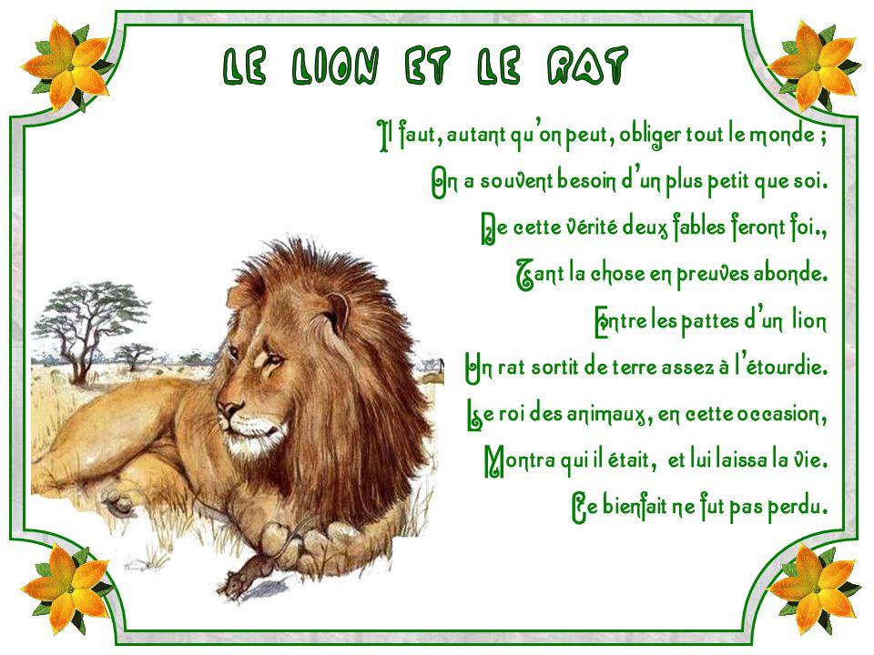 Iii ppt video online t l charger - Image le lion et le rat ...