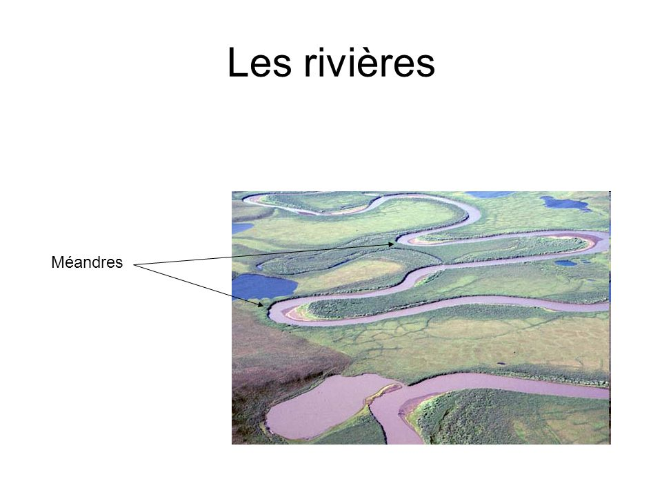 Les rivières Méandres