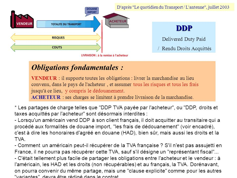 compl u00e9ments projet transport international