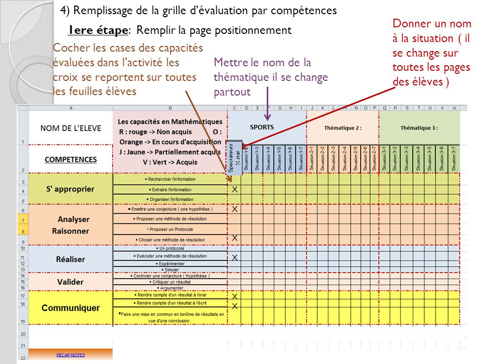 Exemple d valuation pour la formation par comp tences - Grille d evaluation des competences infirmieres ...