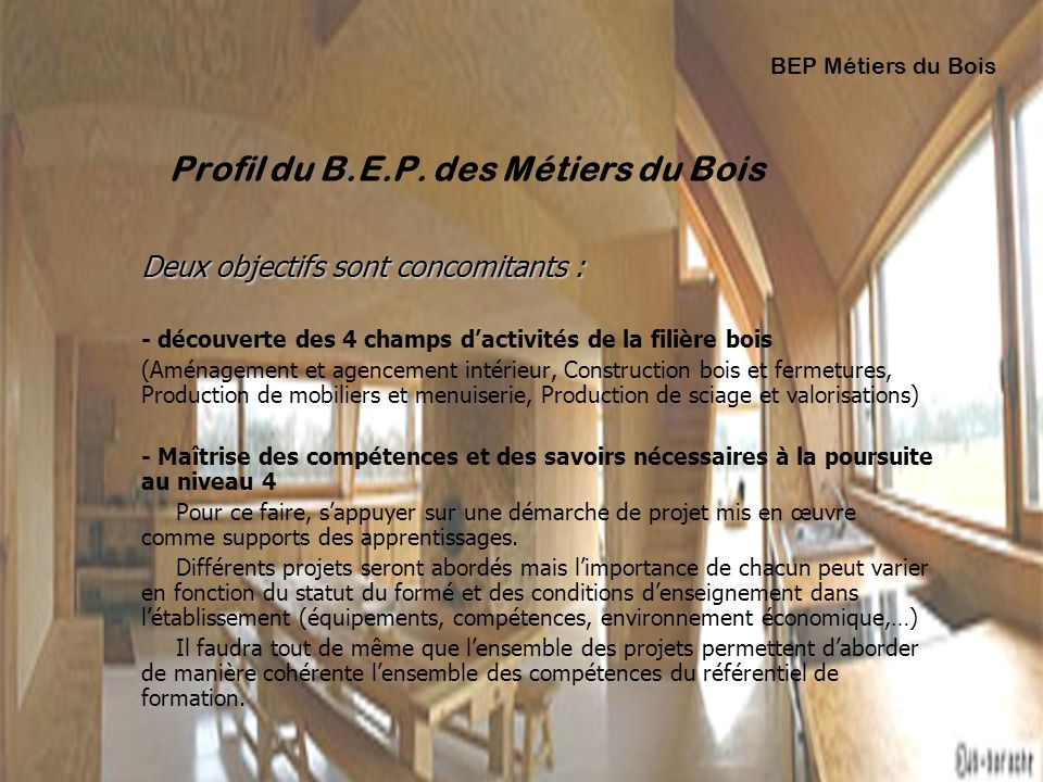 Renovation des diplomes ppt t l charger for Formation agencement interieur