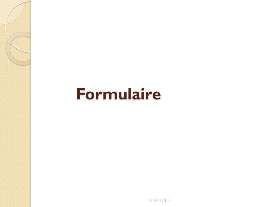 Formulaire 12/04/2017