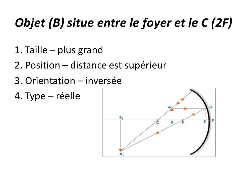 Grand Foyer Et Petit Foyer : La science ème année unité l optique ppt télécharger