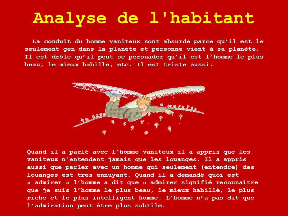 Analyse de l habitant