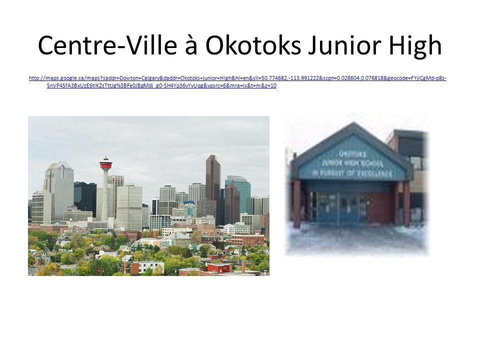 Centre-Ville à Okotoks Junior High