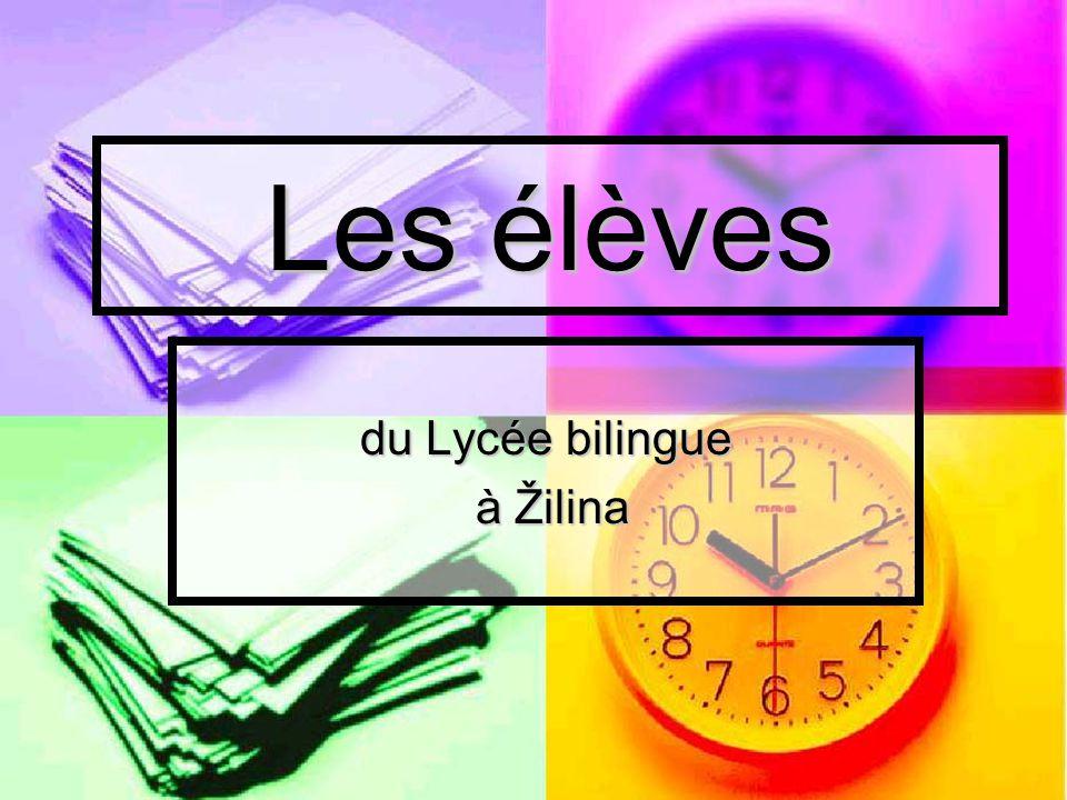 du Lycée bilingue à Žilina