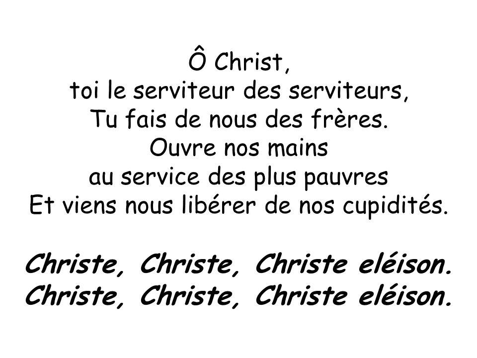 Christe, Christe, Christe eléison.