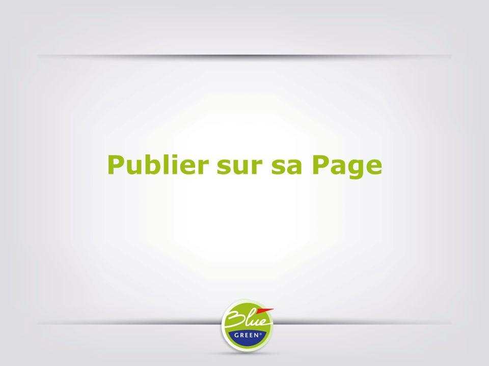 Publier sur sa Page