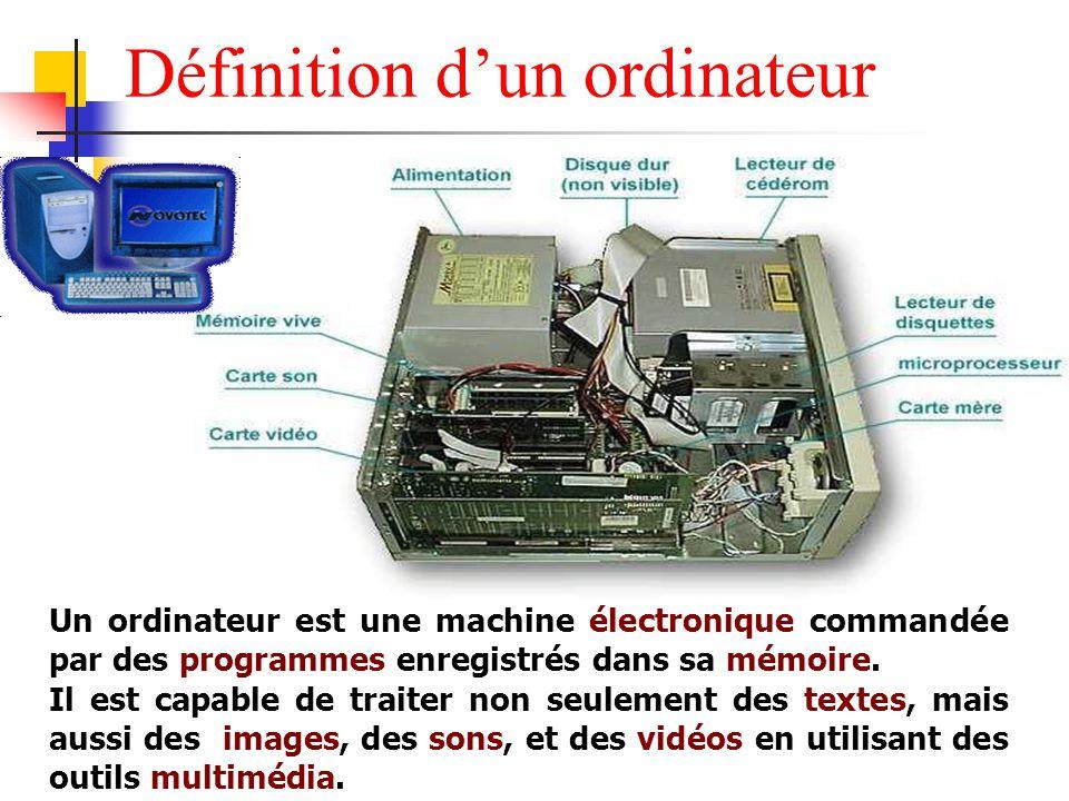 L entretien de son pc architecture d un pc ppt video for Architecture informatique definition