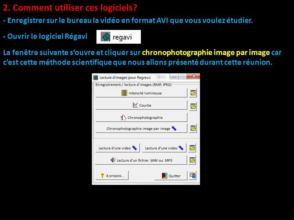 Pr sentation des logiciels r gavi et r gressi utilis s - Comment creer une icone sur le bureau ...