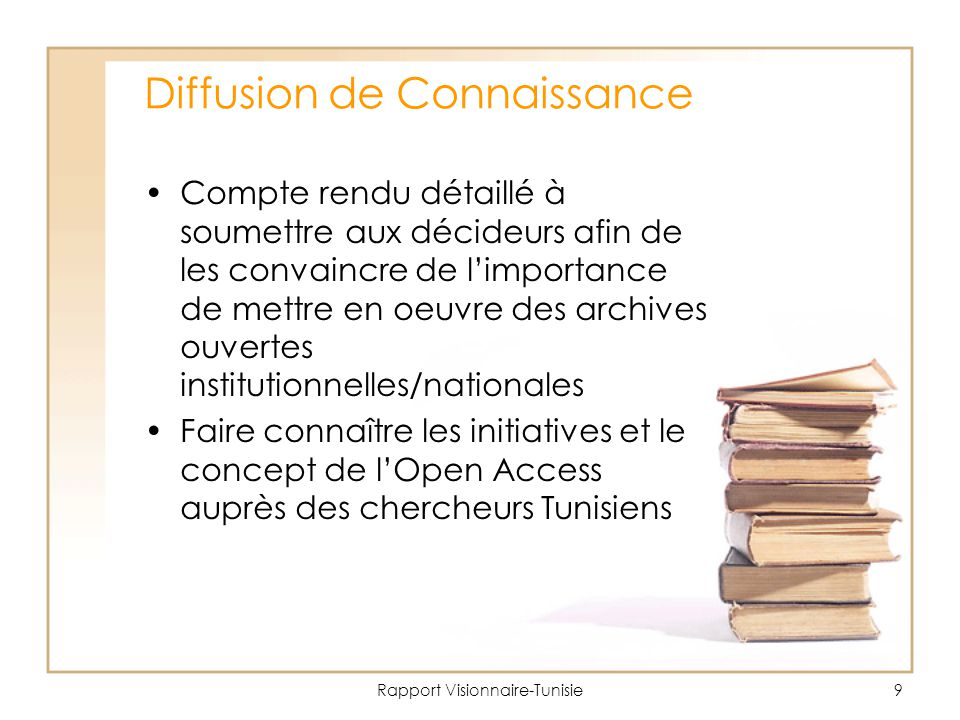 Diffusion de Connaissance