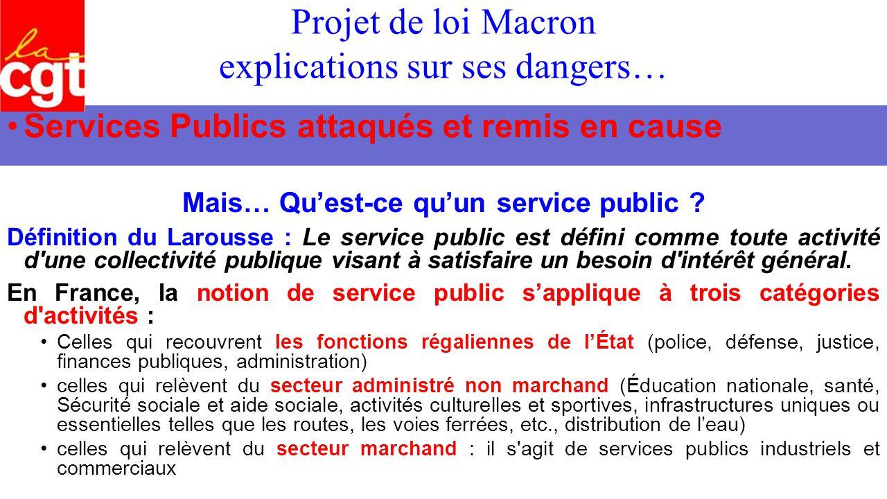 Projet de loi macron explications sur ses dangers mise - Qu est ce que le plafond de la securite sociale ...