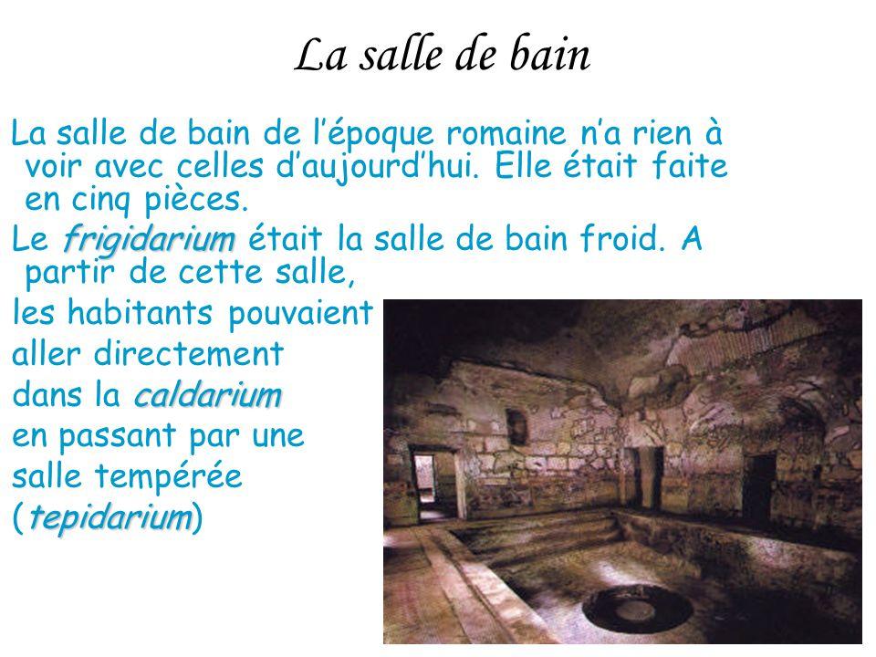 La domus trop bien cet expos vivement le prochain ppt for Salle de bain romaine