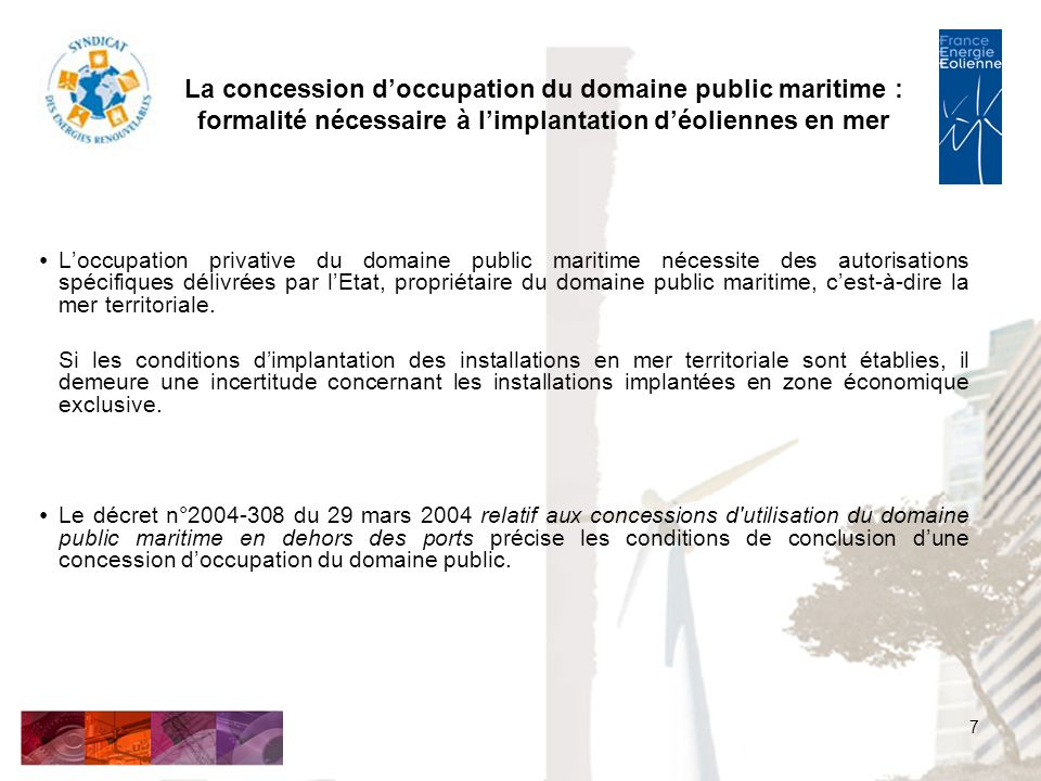 loccupation privative du domaine public dissertation
