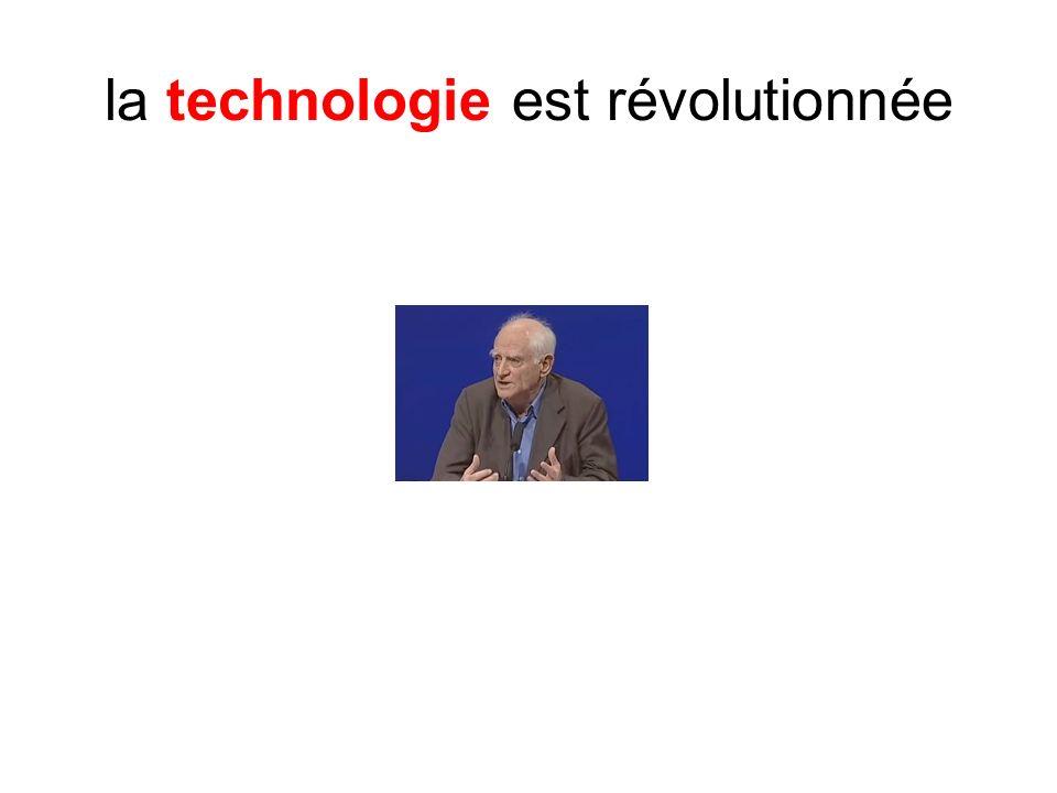 la technologie est révolutionnée