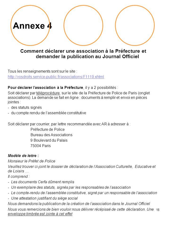 Document facel 3 aper u des fronti res r glementaires pour - Prefecture de police de paris bureau des associations ...