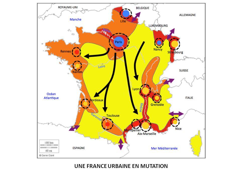 UNE FRANCE URBAINE EN MUTATION