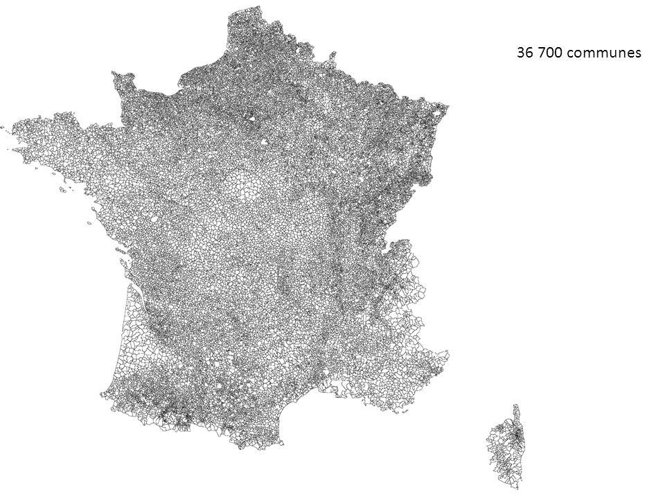 36 700 communes