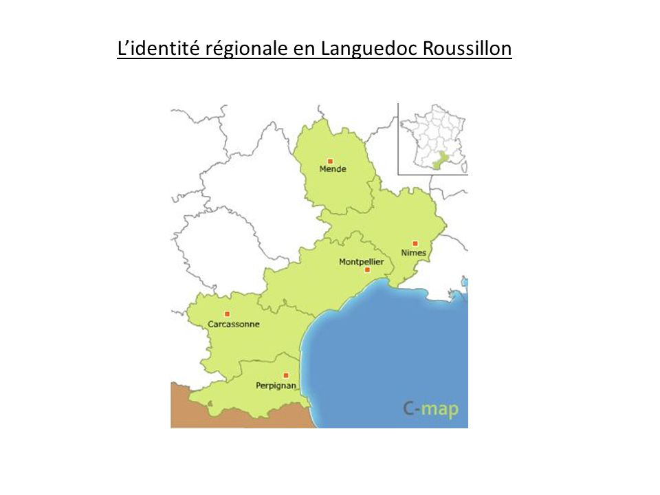 L'identité régionale en Languedoc Roussillon
