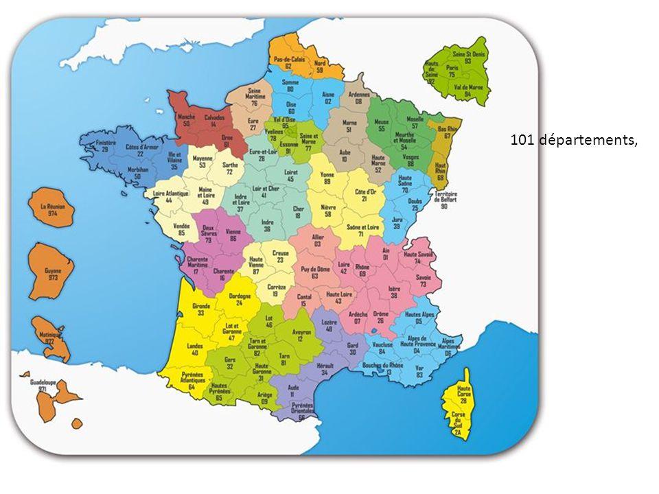 101 départements,