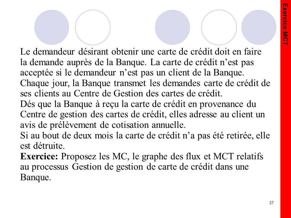 Le demandeur désirant obtenir une carte de crédit doit en faire la demande auprès de la Banque. La carte de crédit n'est pas acceptée si le demandeur n'est pas un client de la Banque.