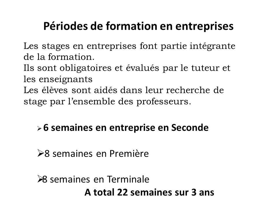 Lyc e des m tiers jean perrin ppt video online t l charger for Stage creation entreprise chambre des metiers