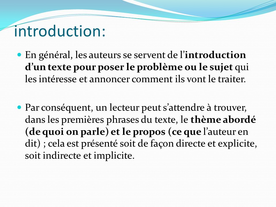 introduction d un texte