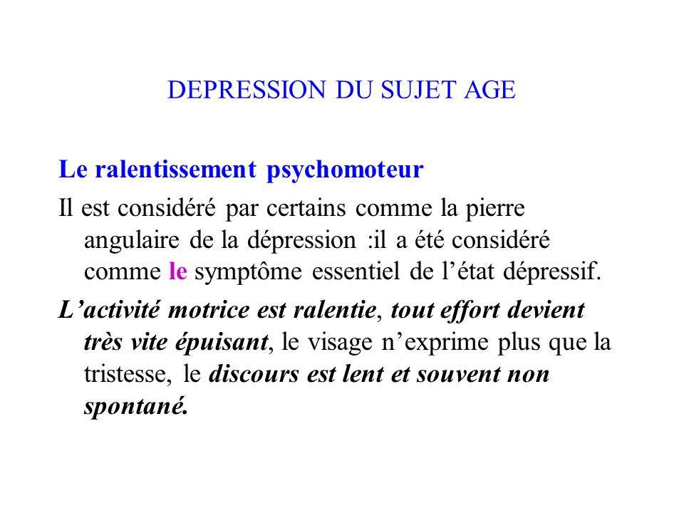 LA DEPRESSION. - ppt télécharger