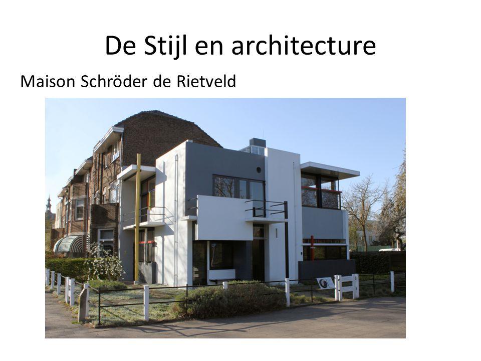 L cole d amsterdam et de stijl ppt t l charger - Stijl des maisons ...