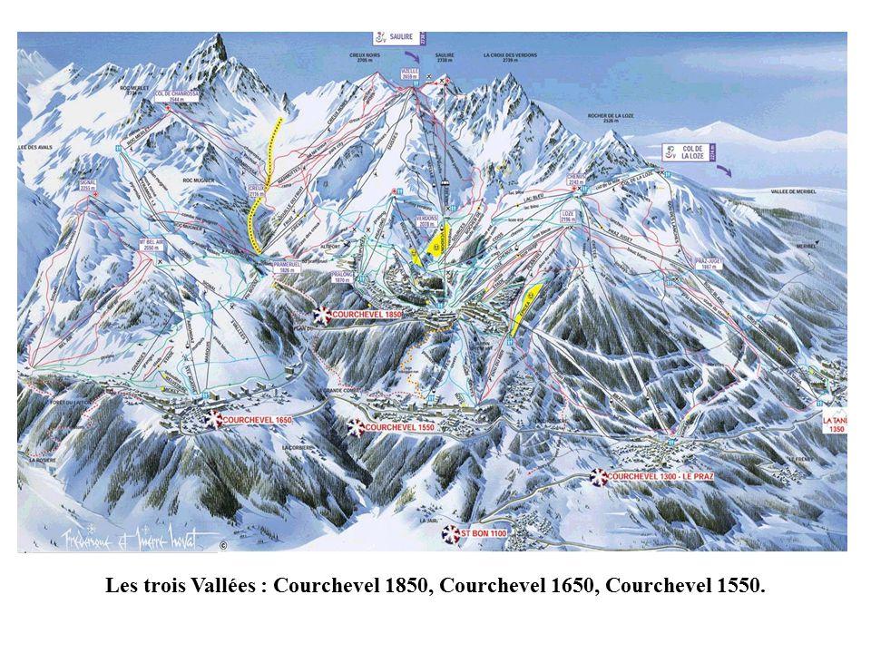 Courchevel les 3 vall es se situe en savoie la station des trois vall es est l un des plus - Courchevel 1650 office du tourisme ...
