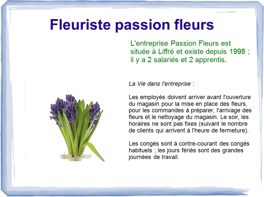 Fleuriste passion fleurs