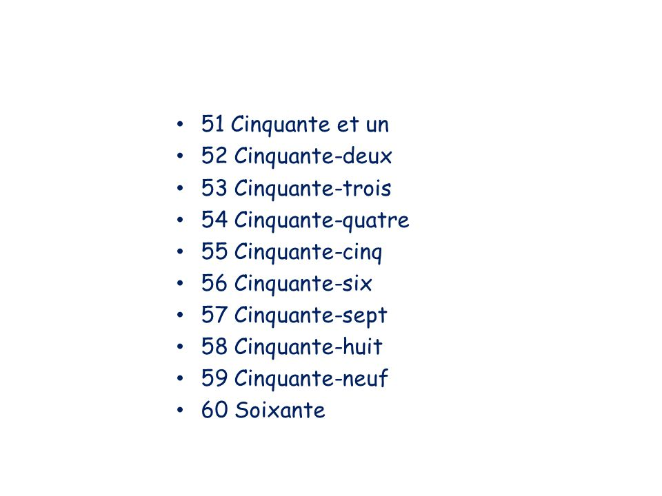 Les nombres ppt video online t l charger for Chambre cinquante sept