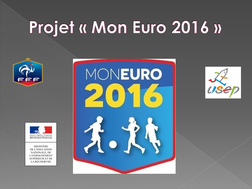 Projet « Mon Euro 2016 »