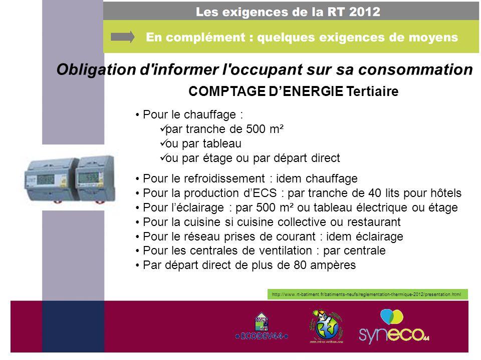 Maitriser l nergie dans les b timents ppt video online t l charger - Reglementation cuisine collective ...
