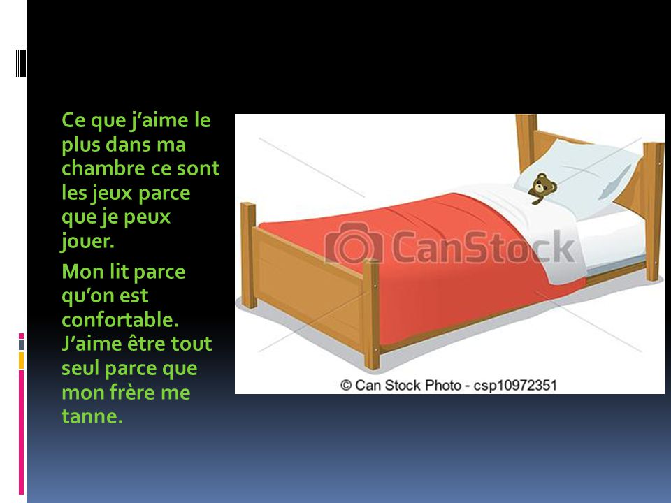 ma chambre ppt video online t l charger. Black Bedroom Furniture Sets. Home Design Ideas