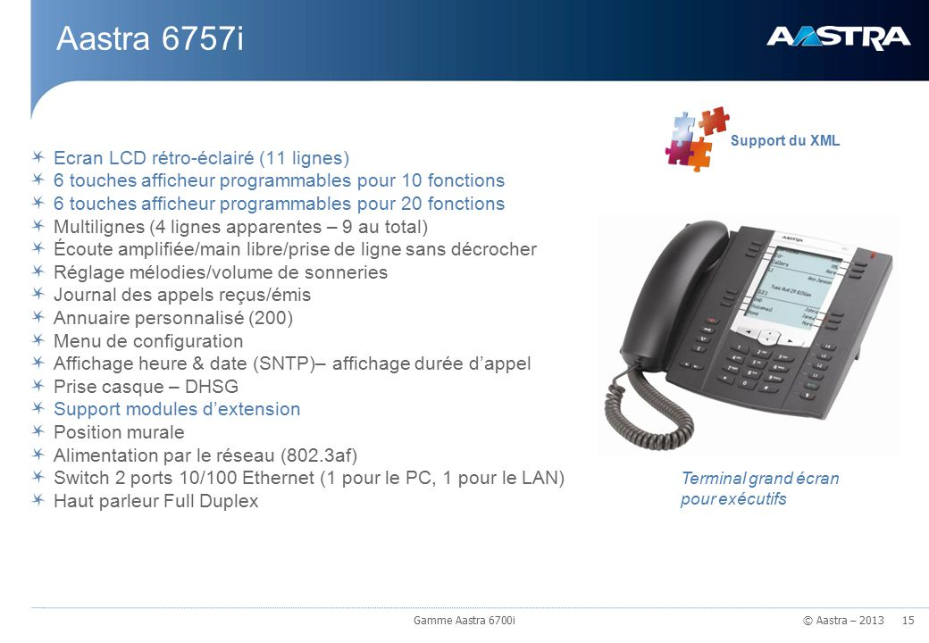 La gamme aastra 6700i mars 2013 gamme aastra 6700i ppt for Ecran pc haut de gamme