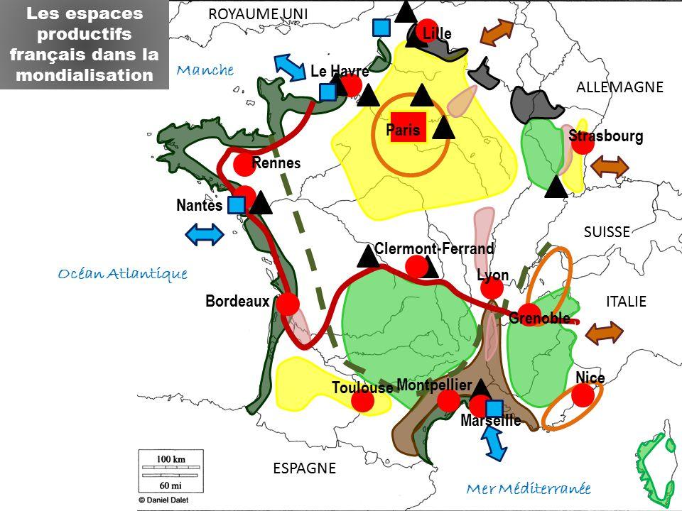 Les espaces productifs français dans la mondialisation