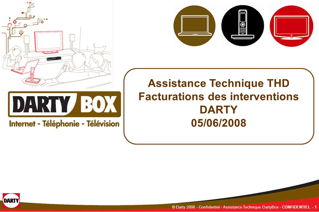 assistance technique thd facturations des interventions darty ppt video online t l charger. Black Bedroom Furniture Sets. Home Design Ideas