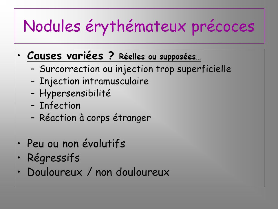 complications des produits de comblement qdn ppt video online t l charger. Black Bedroom Furniture Sets. Home Design Ideas