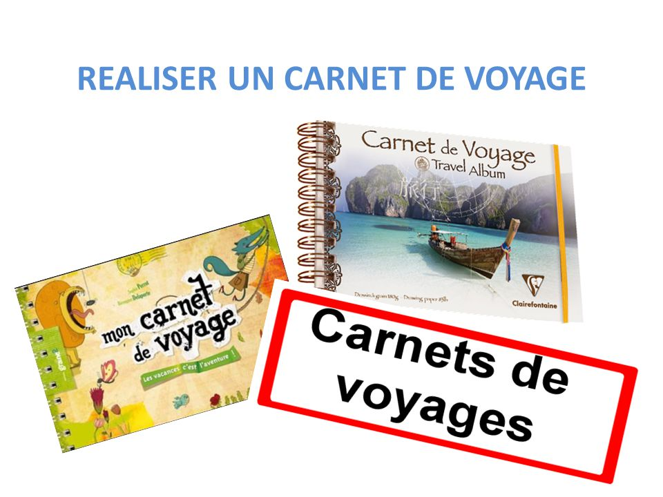 realiser un carnet de voyage ppt video online t l charger. Black Bedroom Furniture Sets. Home Design Ideas