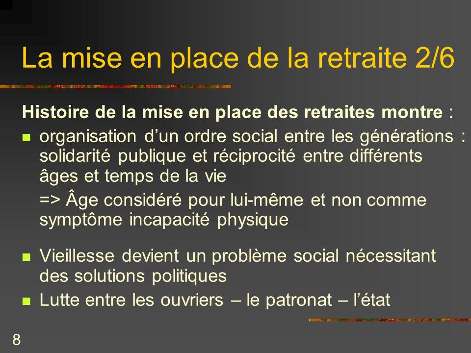 Sociologie du vieillissement ppt t l charger - Mise en retraite d office fonction publique ...