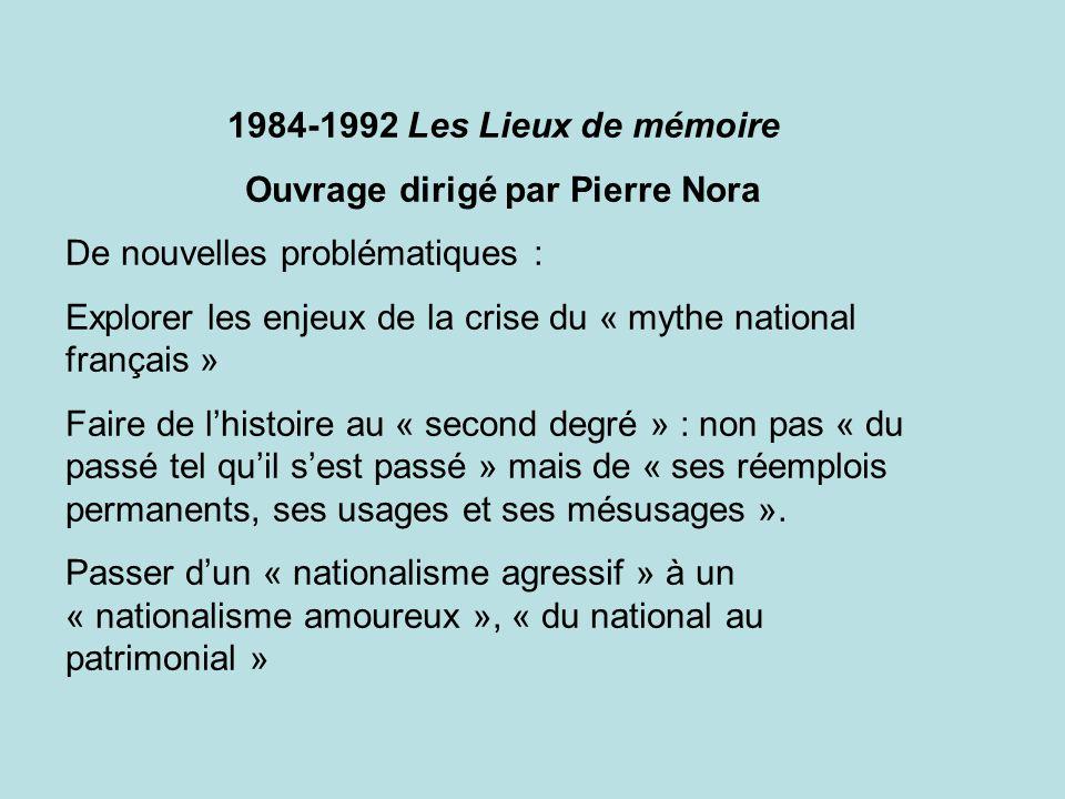 Ouvrage dirigé par Pierre Nora