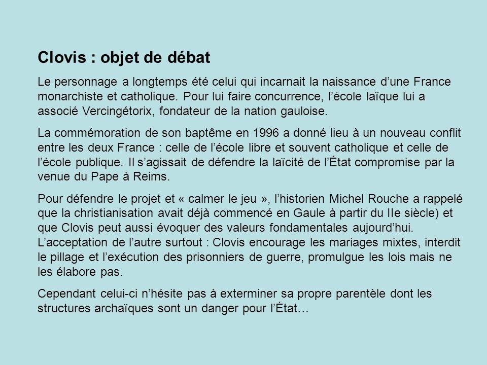Clovis : objet de débat