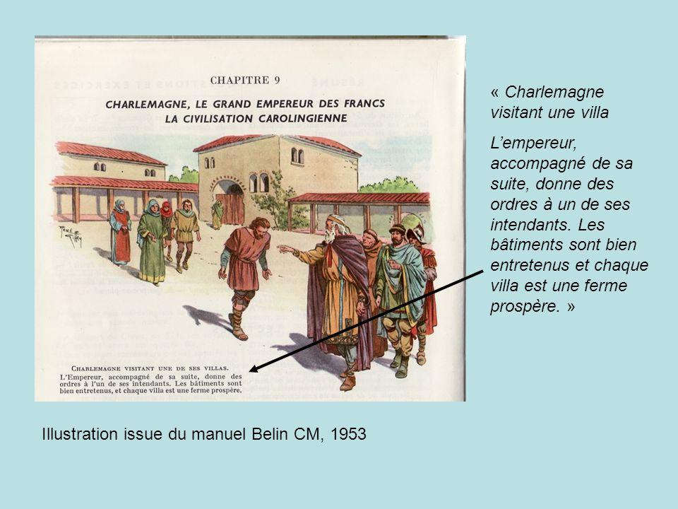 « Charlemagne visitant une villa