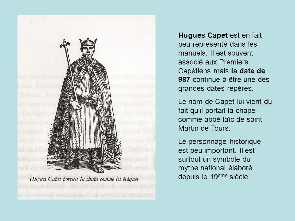 Hugues Capet est en fait peu représenté dans les manuels