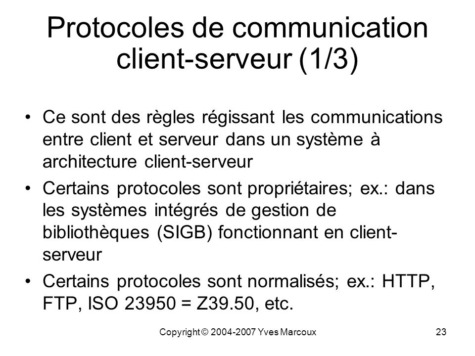 L ments de r seautique ppt video online t l charger for Architecture client serveur
