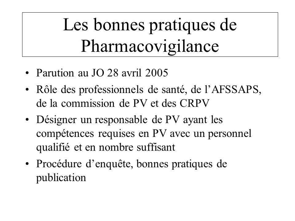 exemple de cv charge de pharmacovigilance