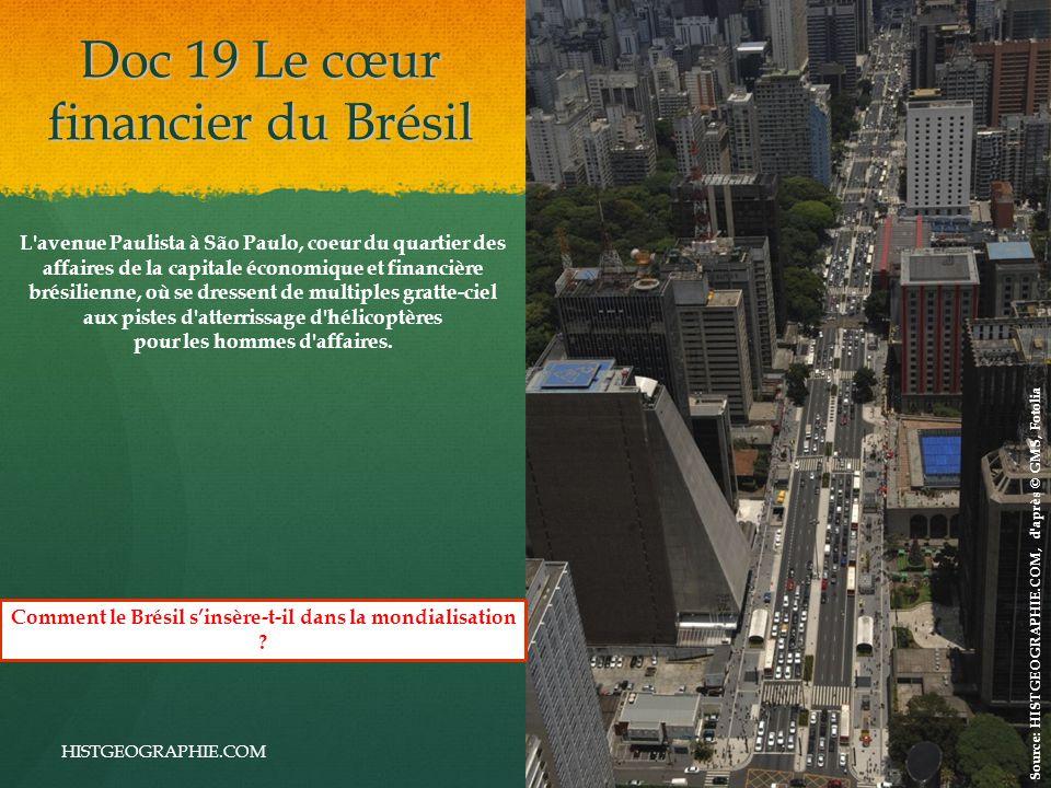 Doc 19 Le cœur financier du Brésil