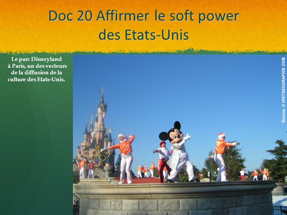 Doc 20 Affirmer le soft power des Etats-Unis