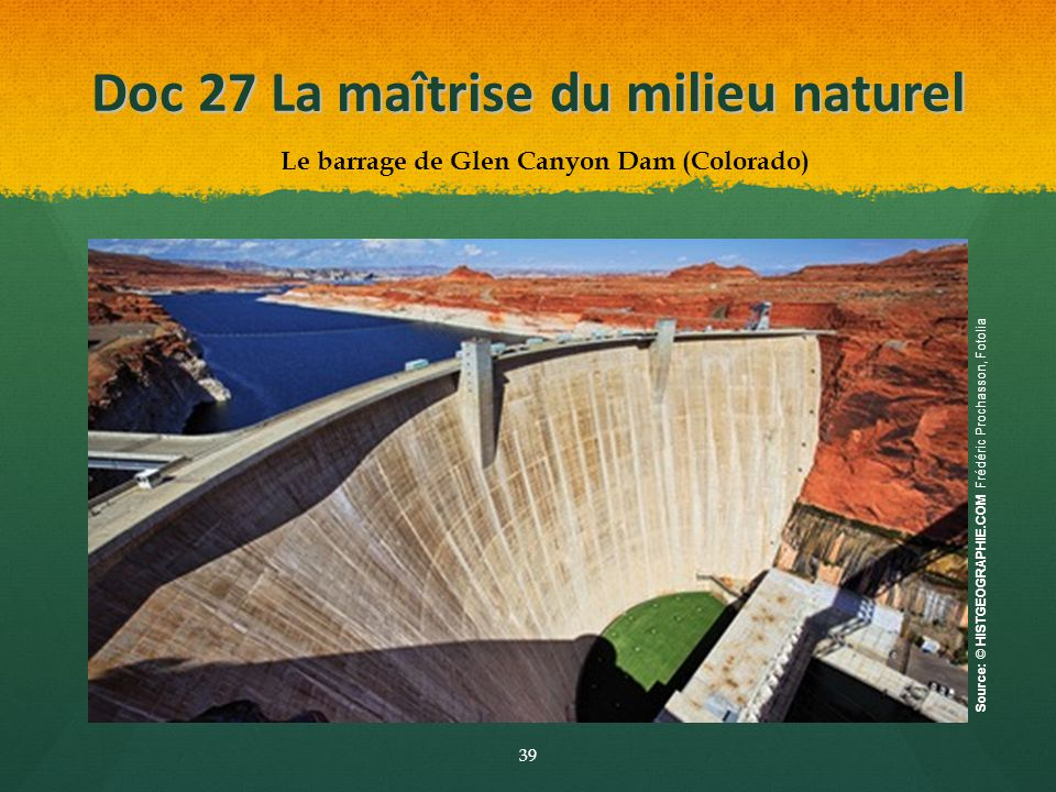 Doc 27 La maîtrise du milieu naturel